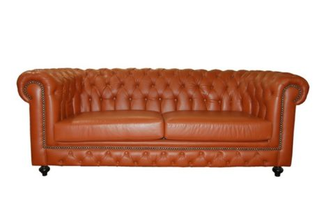Leather Marli Bovine Oxblood 3 Seater Ouhout Meubels