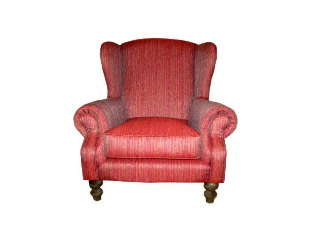 Wingback – Wine red